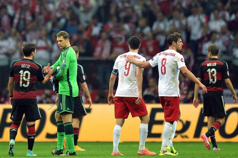 W 2014 roku Polska w końcu wygrała z Niemcami /AFP