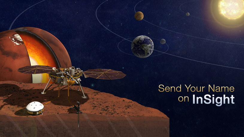 W 2016 r. będzie można wysłać swoje dane na Marsa /NASA