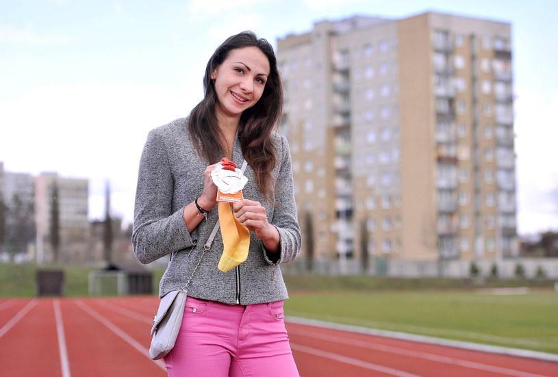 W 2016 r. Magdalena Gorzkowska zdobyła srebrny medal MŚ  w sztafecie 4x400 m. Teraz zdobywa ośmiotysięczniki /Rafał Rusek /Newspix