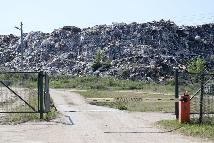 W 2017 roku Polska przyjęła 377,7 tys. ton odpadów /Anatol Chomicz / Gazeta Wspolczesna / Kurier Poranny / Polska Press /East News