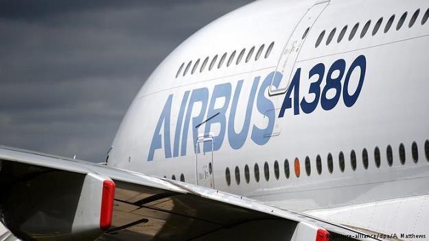 W 2021 roku Airbus zaprzestanie produkcji modelu A380 /Deutsche Welle
