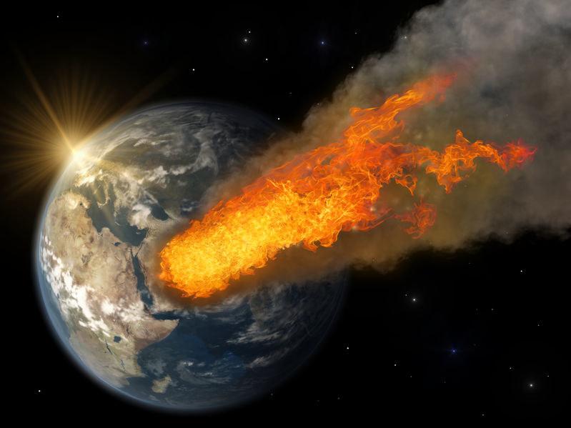 W 2029 roku Apophis przeleci w odległości 37 600 km od Ziemi /123RF/PICSEL