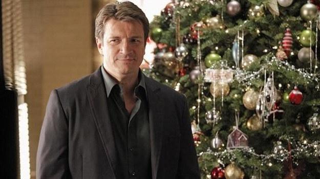 W 5. serii będziemy mogli przekonać się po raz pierwszy, jak Castle obchodzi święta Bożego Narodzenia. /ABC/Richard Cartwright /materiały prasowe