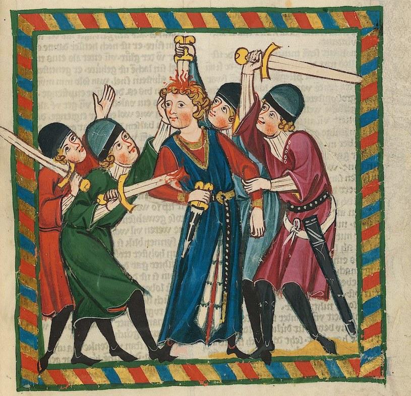 """W 983 roku atmosfera w Niemczech zrobiła się bardzo niespokojna… Powyżej ilustracja z tak zwanego """"Kodeksu Manesse"""" (źródło: domena publiczna) /Ciekawostki Historyczne"""