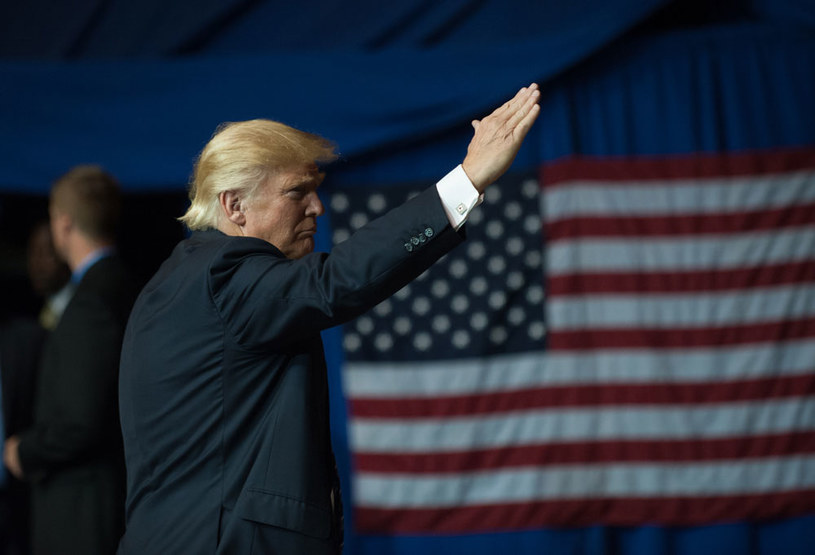 W afroamerykańskim kościele nie pozwolono Donaldowi Trumpowi atakować Hillary Clinton /AFP