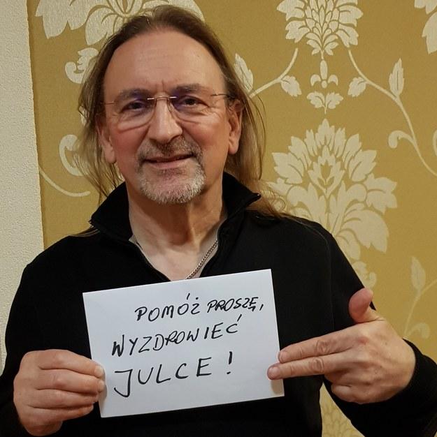W akcję pomocy Julce zaangażował się Marek Piekarczyk /materiały prasowe /