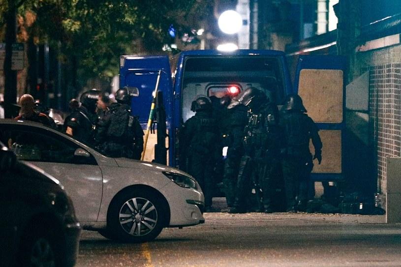W akcji brała udział francuska grupa szybkiego reagowania policyjnego RAID /AFP