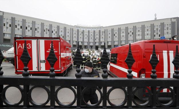 W akcji brało udział ponad 100 strażaków /ANATOLY MALTSEV  /PAP/EPA