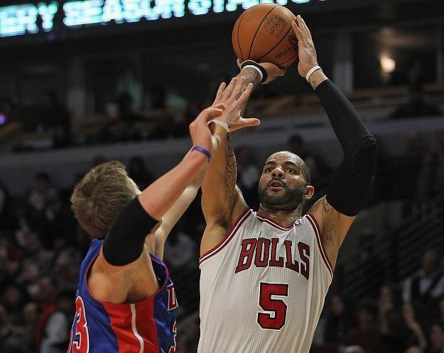 W akcji Carlos Boozer z Chicago Bulls /AFP