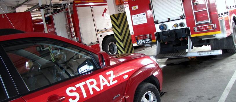W akcji gaśniczej uczestniczyło 10 zastępó straży pożarnej /RMF FM