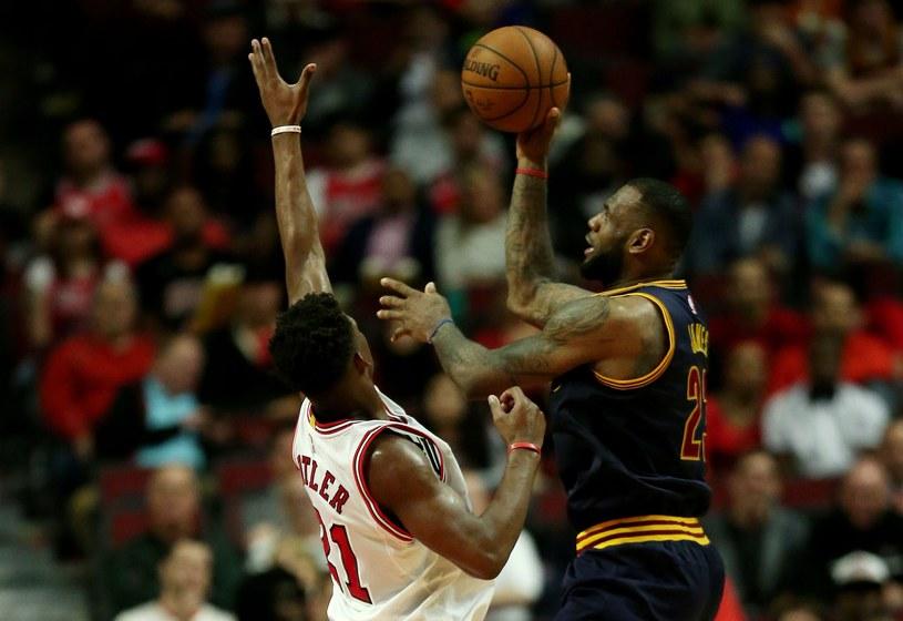 W akcji LeBron James /AFP