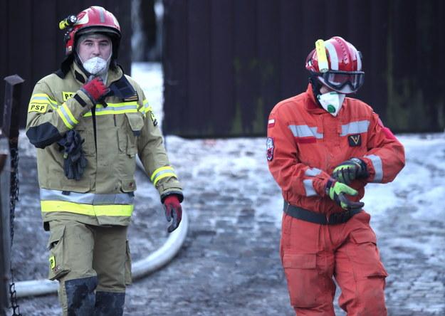 W akcji ratowniczej brało udział blisko 250 osób / Andrzej Grygiel    /PAP