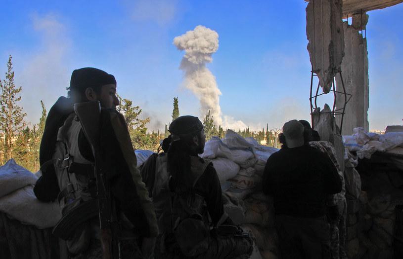 W Aleppo trwają walki /AFP