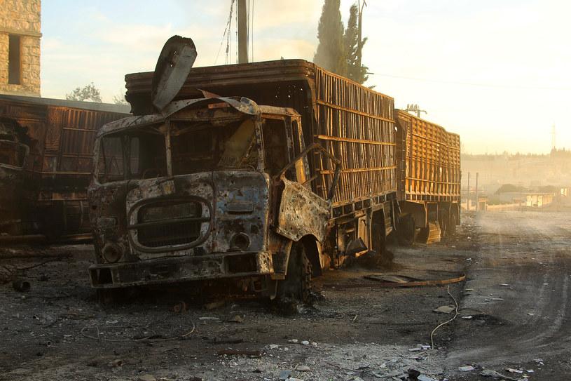 W Aleppo wciąż giną ludzie /Agencja FORUM