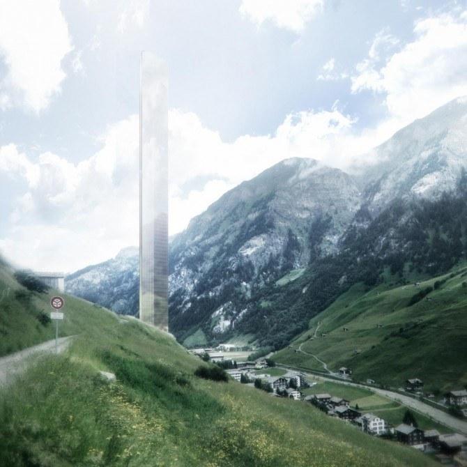 W Alpach powstanie najwyższy europejski hotel (Fot. Morphosis) /materiały prasowe