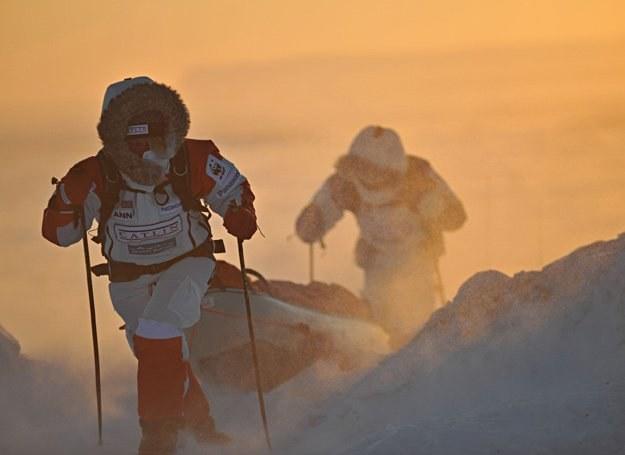 W Arktyce nie ma żartów - możesz zginąć na każdym kroku. Hammond sprawdził to na własnej skórze /AFP