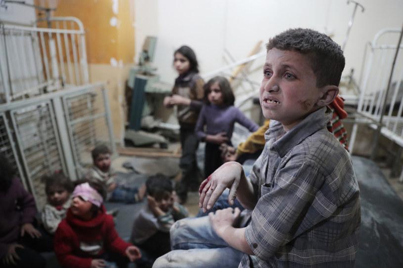W ataku chemicznym na Chan Szajchun w kontrolowanej przez rebeliantów prowincji Idlib zginęło co najmniej 87 osób, w tym 30 dzieci /Abd Doumany /AFP