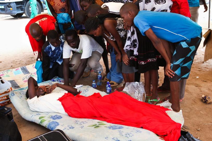 W ataku na kampus zginęli studenci /PAP/EPA