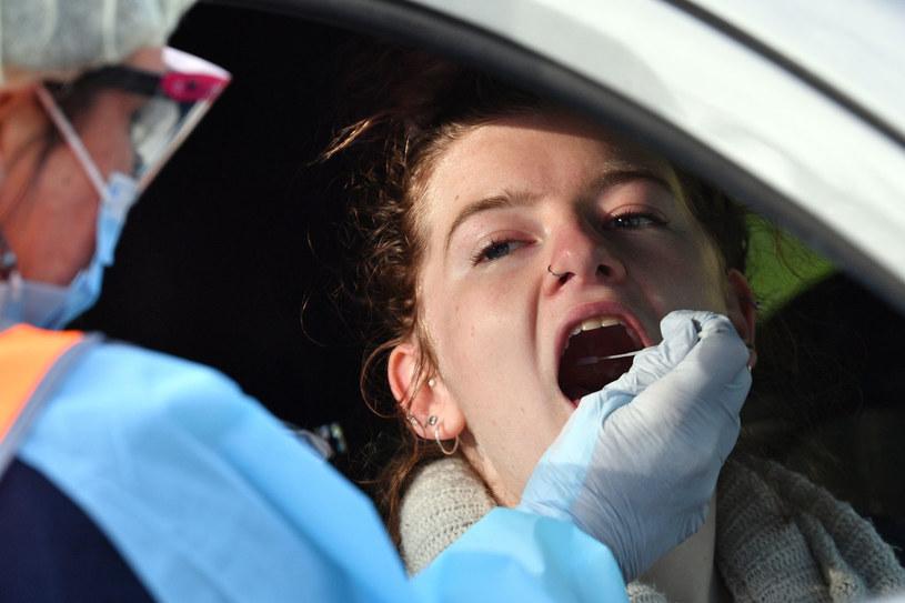 W Australii koronawirus powrócił /SAEED KHAN /AFP