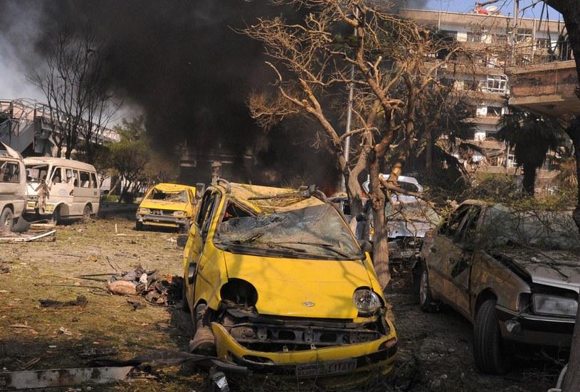 W Bagdadzie można być świadkiem eksplozji na każdym kroku... /AFP