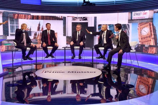 W BBC One odbyła się debata kandydatów na szefa Partii Konserwatywnej /JEFF OVERS / BBC NEWS HANDOUT /PAP/EPA