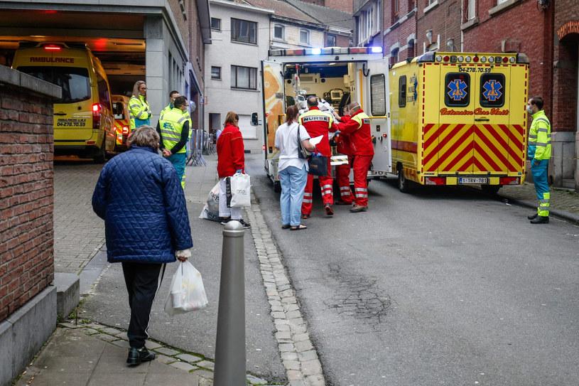 W Belgii odnotowano w ostatnich dniach gwałtowny wzrost zakażeń /BRUNO FAHY/AFP /East News