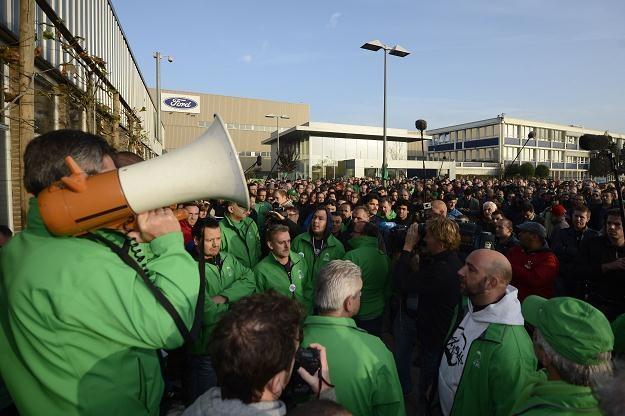 W belgijskim mieście Genk Ford Motor Co. zwolni 4300 osób /AFP