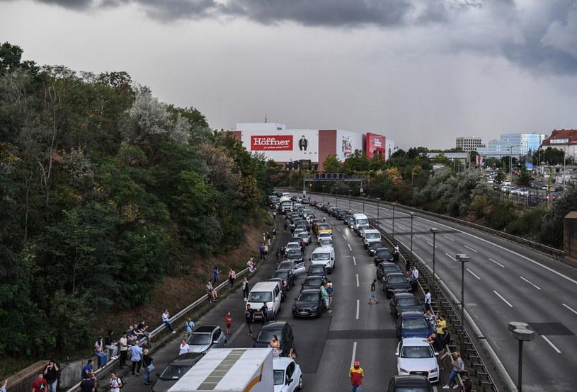 W Berlinie doszło do zamachu na autostradzie. /FILIP SINGER /PAP