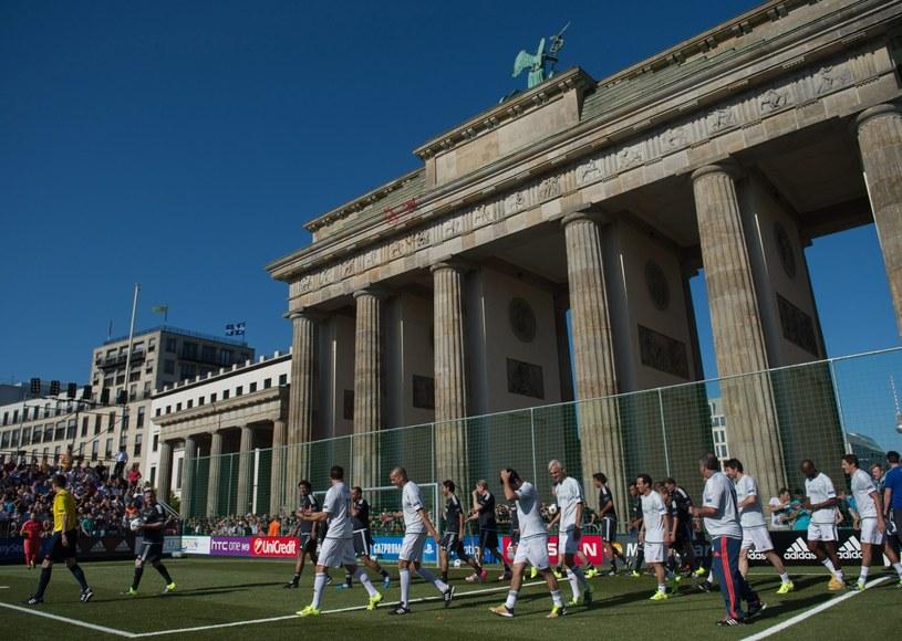 W Berlinie wielkie oczekiwanie na finał /AFP