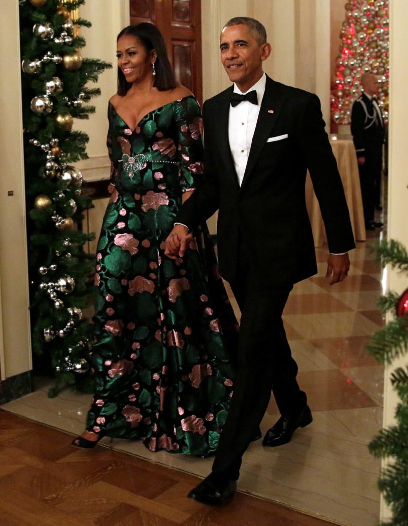W Białym Domu świąteczny nastrój panuje przez cały miesiąc /YURI GRIPAS /Agencja FORUM