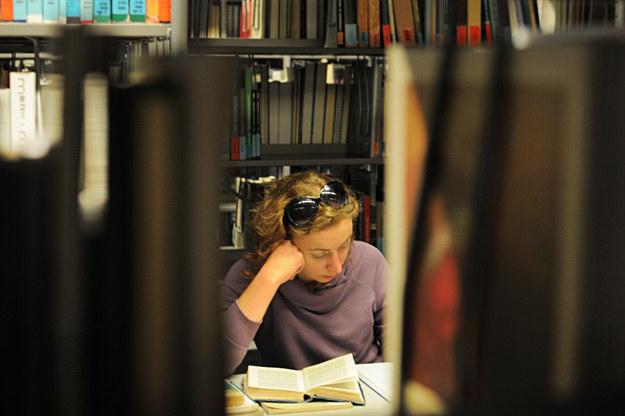 W Bibliotece Uniwersytetu Warszawskiego /fot. Adam Stepien