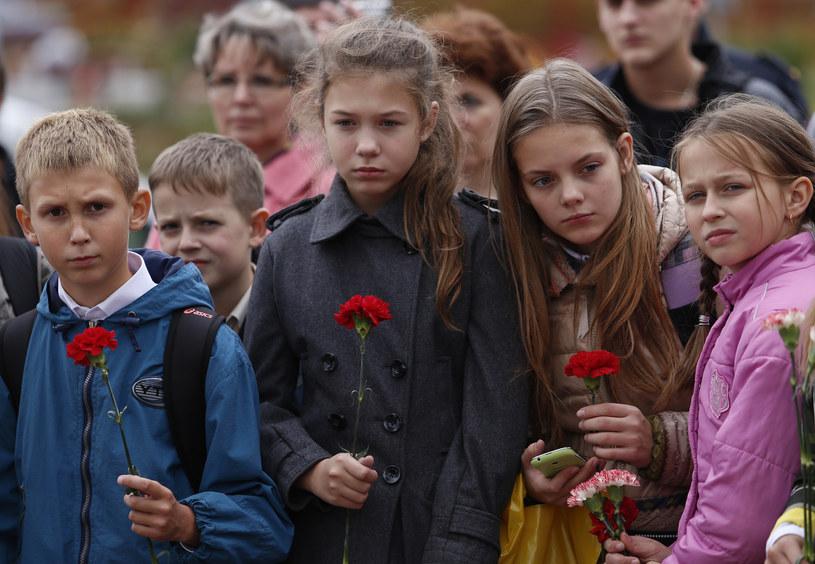 W Biesłanie zginęły 334 osoby, w tym 186 dzieci. Rannych zostało 810 osób. /Getty Images