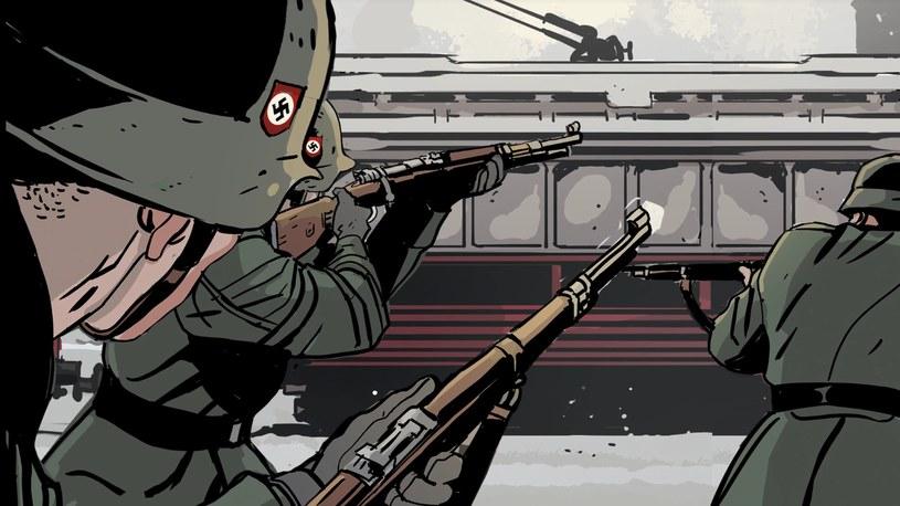 """W """"Bradlu"""" nie brakuje akcji, ale komiks nie byłby tym samym, gdyby nie jego elementy obyczajowe /materiały prasowe"""