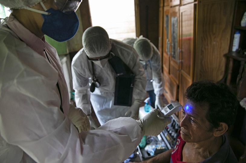 W Brazylii w szybkim tempie przybywa zakażonych /TARSO SARRAF /AFP