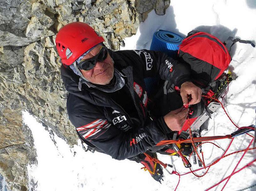 W Broad Peak zginął inny polski himalaista - Maciej Berbeka /Adam Bielecki /AFP