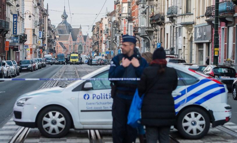 W Brukseli panuje najwyższy stopień zagrożenia terrorystycznego /PAP/EPA