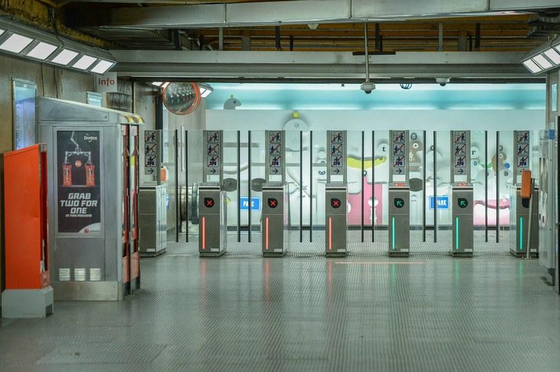 W Brukseli wstrzymano kursowanie metra /PAP/EPA
