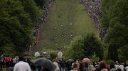 W.Brytania: 6 tys. fanów oglądało bieg za serem