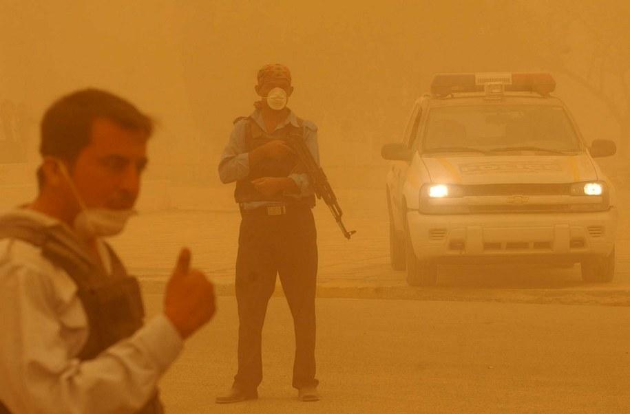 W burzy piaskowej zginęły 4 osoby (zdj. ilustracyjne) /ALI ABBAS /PAP/EPA
