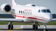 W Bydgoszczy wylądował drugi samolot dla VIP-ów - Gulfstream G550