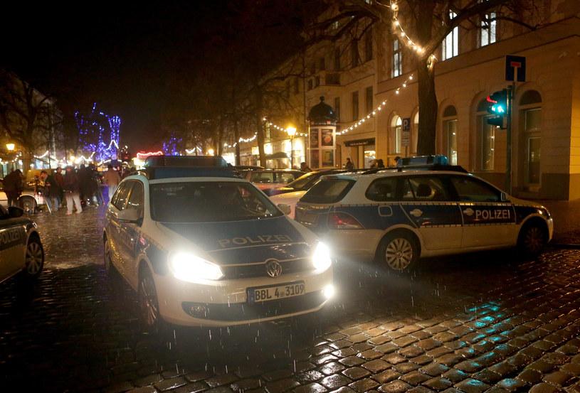 W całej Brandenburgii wzmożono kontrole bezpieczeństwa /Adam Berry /AFP