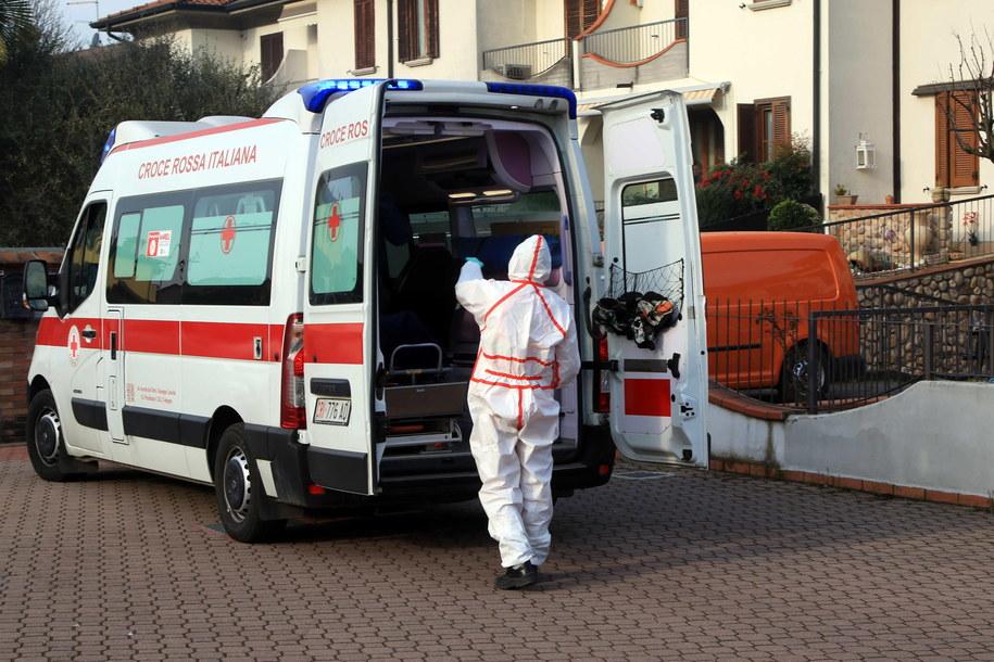 W całych Włoszech stwierdzono już prawie 200 przypadków zachorowań. W samej Lombardii zachorowało jak dotąd 165 osób /Paolo Salmoirago /PAP/EPA