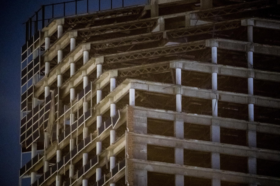 W Caracas ewakuowano ludzi z wysokich budynków /Miguel Gutierrez /PAP/EPA