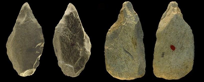 W Castel di Guido znaleziono 98 narzędzi wykonanych z kości słoniowej. Fot. Villa et al., PLOS One, 2021 /materiał zewnętrzny