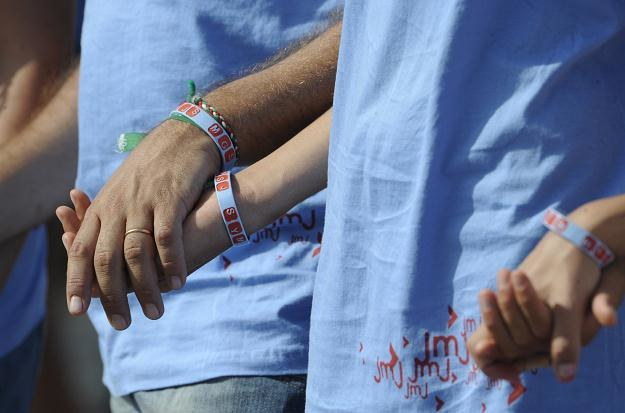 W centralnej liturgii Światowych Dni Młodzieży w Madrycie wzięło udział ok. 2 mln osób /AFP