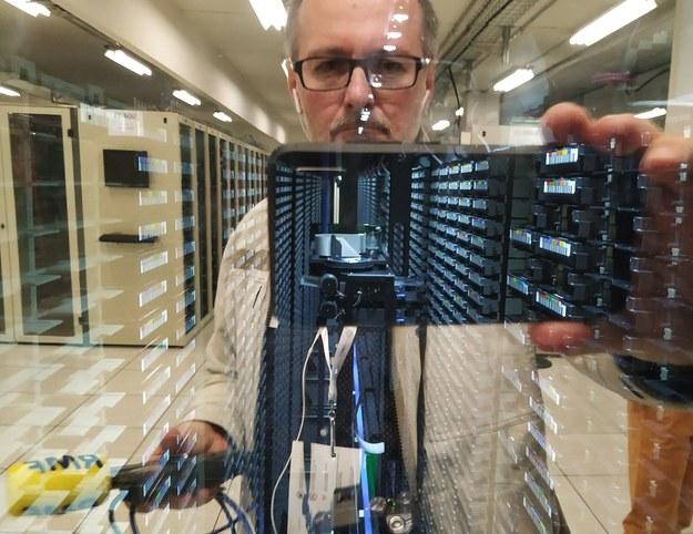 W CERN Data Center /Grzegorz Jasiński /RMF FM