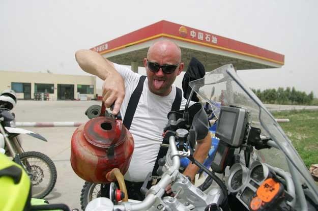 W Chinach nie można tankować motocykli z dystrybutorów /