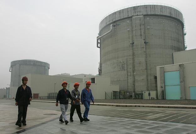 W Chinach pracują cztery elektrownie atomowe /AFP