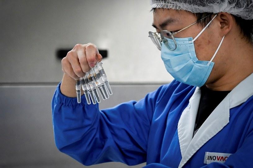 W Chinach wykryto pierwsze zakażenia nigeryjskim wariantem koronawirusa /WANG ZHAO/AFP /AFP