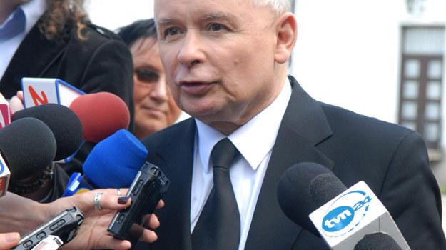 W ciągu czterech dni po I turze Kaczyński pojawił się w telewizji aż 41 razy / fot. Marek Ulatowski /MWMedia